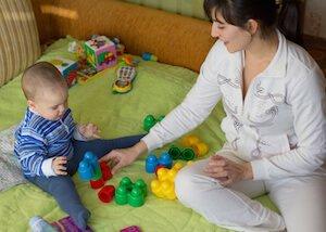 visite médicale d'embauche à la nounou à domicile