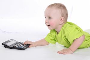 le salaire NET de la garde d'enfants